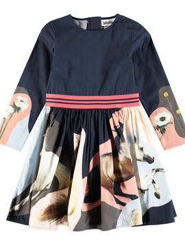 molo Christin Dress - Horse - Molo Kids