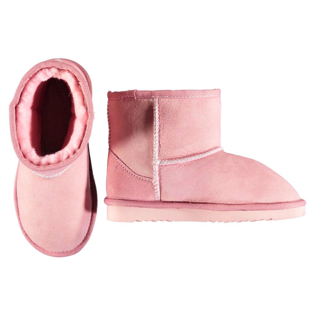 molo Dry Rose Shearling Boots - Molo Kids