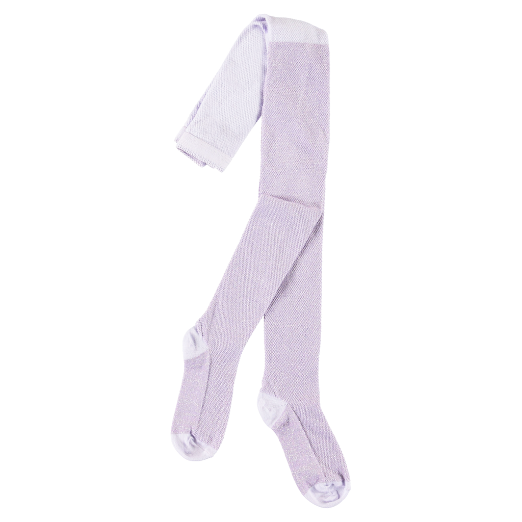 molo Glitter Lilac Tights - Molo Kids Clothing