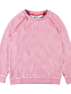 molo Marie Velour Sweatshirt - Molo Kids Clothing