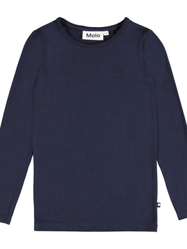 molo Ramona Navy Top - Molo Kids Clothing