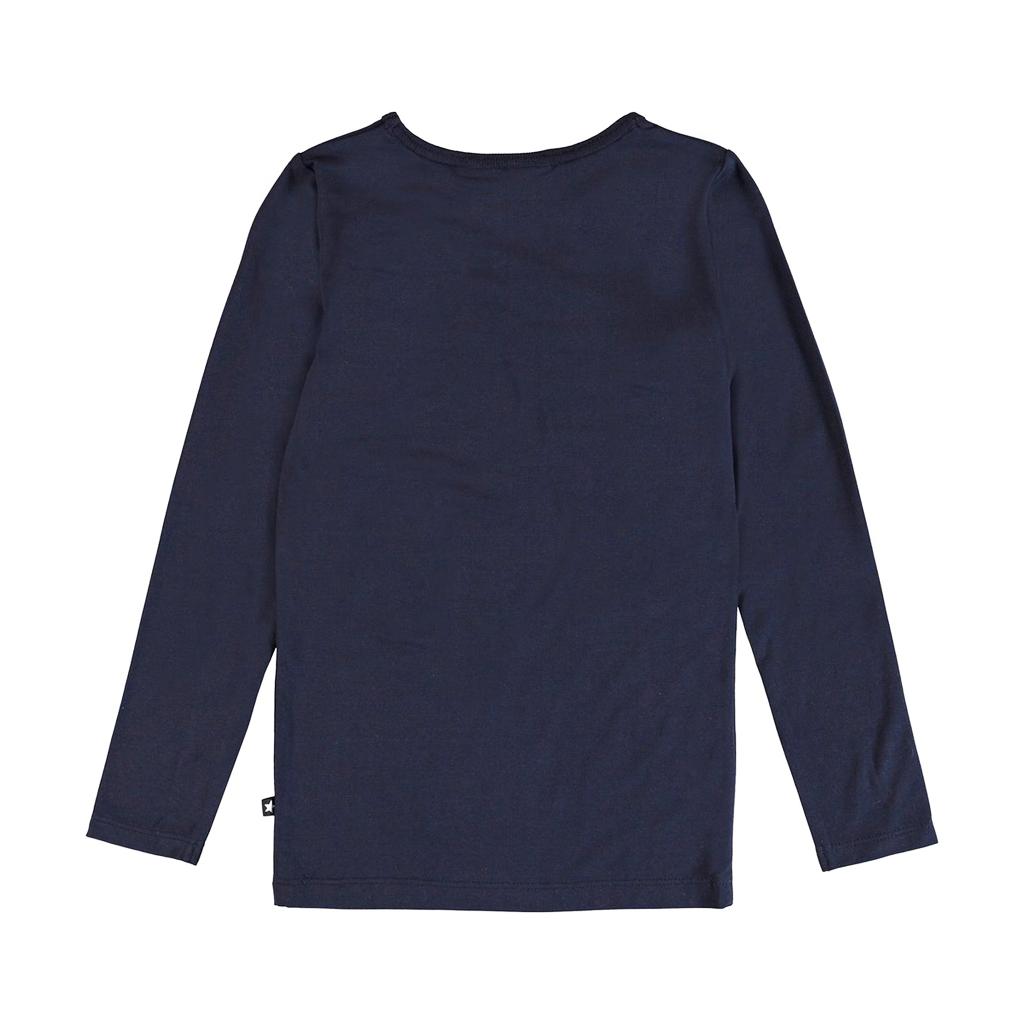 molo Ramona Navy Top - Molo Kids Clothing