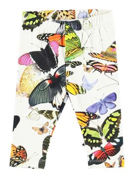 molo Stefanie Leggings - Butterflies - Molo Kids Clothing
