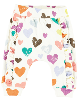 molo Safira Hearts Sweatpant - Molo Kids Clothing
