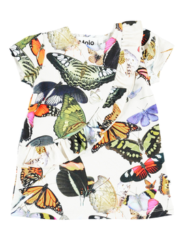 molo Cydney Dress - Butterflies - Molo Kids