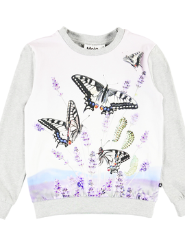 molo Regine Top - Butterflies - Molo Kids