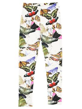 molo Niki Leggings - Butterflies - Molo Kids