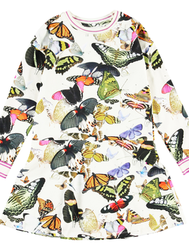 molo Conny Dress - Butterflies - Molo Kids