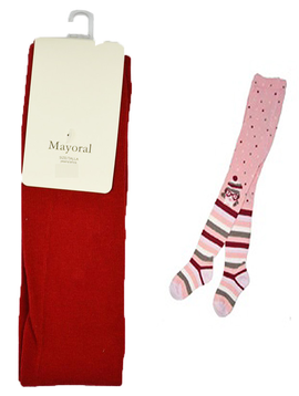 Mayoral Pattern Tights - Mayoral