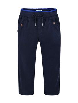 Mayoral Navy Cotton Jogger Pants - Mayoral