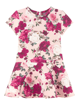 Mayoral Floral Scuba Dress - Mayoral