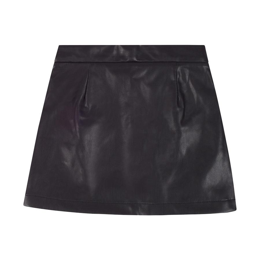Mayoral Tweed w Leather Skirt - Mayoral