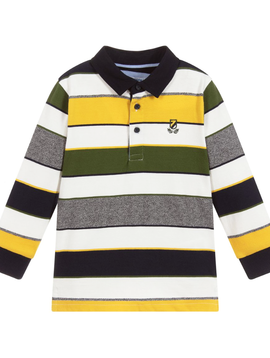 Mayoral Stripe Polo Shirt - Mayoral