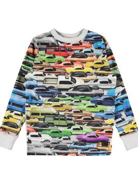molo Rill Cars Shirt - Molo Kids
