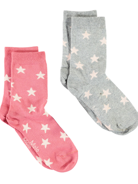 molo Nesi Socks - Faded Rose - Molo Kids