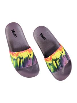 molo Zhappy Slides - Parrot - Molo Kids Swimwear