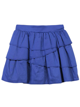 Lili Gaufrette Blue Ruffle Skirt - Lili Gaufrette