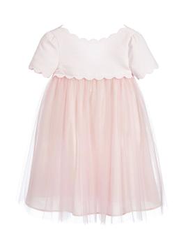 Lili Gaufrette Soft Pink Tulle Dress - Lili Gaufrette