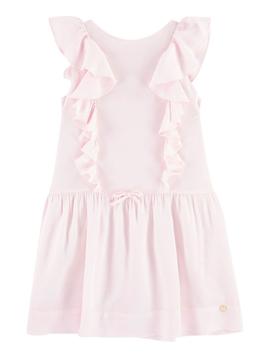 Lili Gaufrette Pink Ruffle Dress - Lili Gaufrette