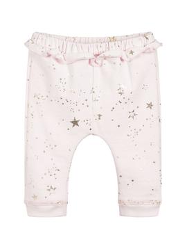 Lili Gaufrette Pink Sweatpants w Stars - Lili Gaufrette