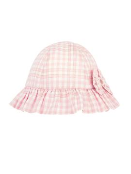Lili Gaufrette Pink Ruffle Hat - Lili Gaufrette