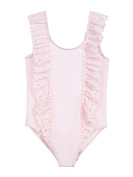 Lili Gaufrette Pink Hearts Swimsuit - Lili Gaufrette