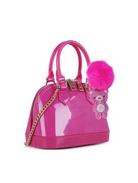 Doe a Dear Jelly Hand Bag w Keychain