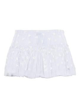 3pommes Clothing Tulle Skirt w Hearts - 3pommes