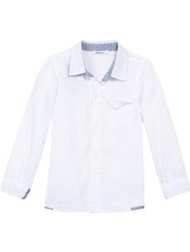 3pommes Clothing White Linen Shirt - 3pommes