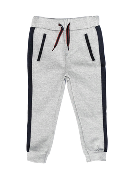 3pommes Clothing Grey Joggers w Navy Stripe - 3pommes