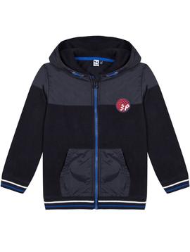 3pommes Clothing Navy Fleece Jacket - 3pommes
