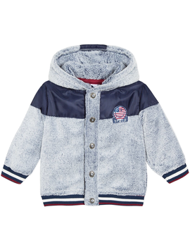 3pommes Clothing Fleece Hooded Jacket - 3pommes