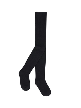 3pommes Clothing Black Solid Tights - 3pommes