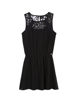 3pommes Clothing Lace Black Dress - 3pommes