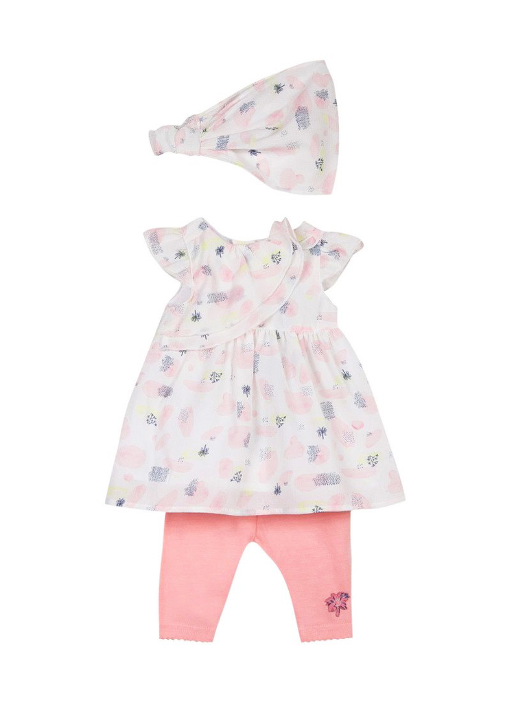 3 Pommes Baby Girls Clothing Set
