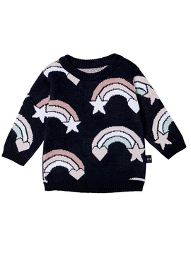 HUXBABY Rainbow Knit Sweater - Huxbaby