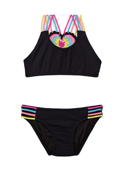Little Peixoto Little Peixoto - Mona Bikini - Black Rib