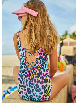 Little Peixoto Little Peixoto - Leopard Swimsuit - Mia Wild Child