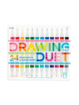 ooly ooly - Drawing Duet Double Ended Markers