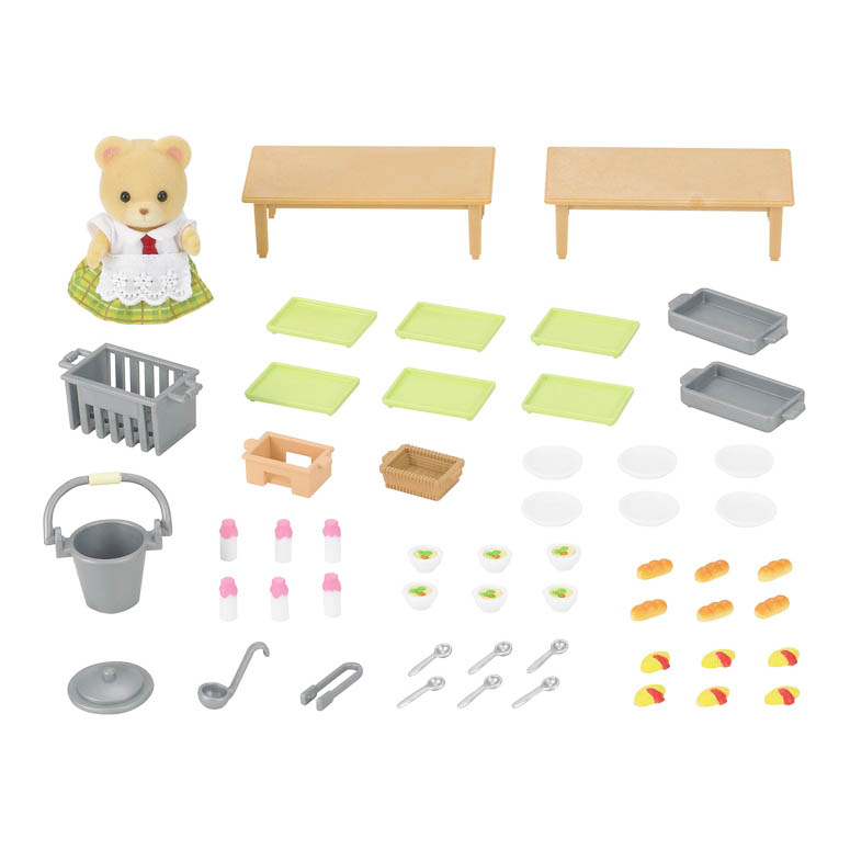 Calico Critters Calico Critters - School Lunch Set