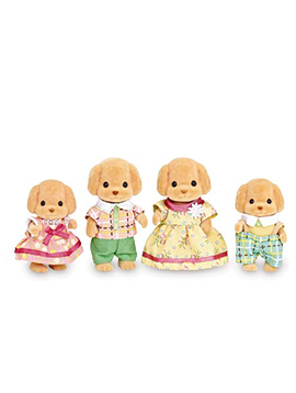 Calico Critters Calico Critters - Toy Poodle Family