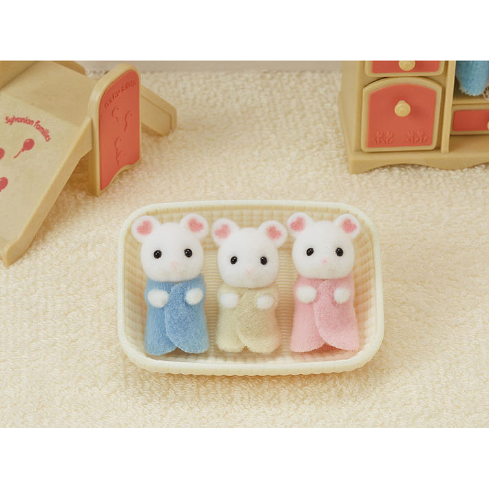 Calico Critters Calico Critters - Marshmellow Mouse Triplets