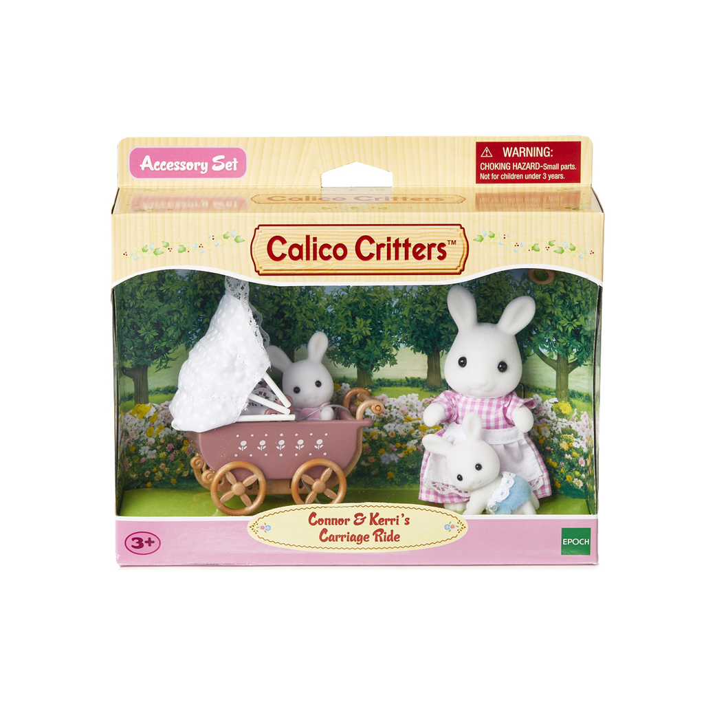 Calico Critters Calico Critters - Connor and Kerri Carriage Ride