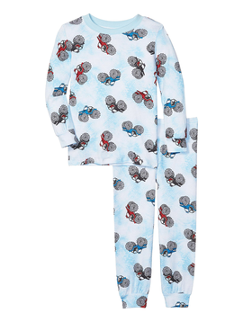Esme Loungewear Esme Boys Pajamas - Monster Jeep