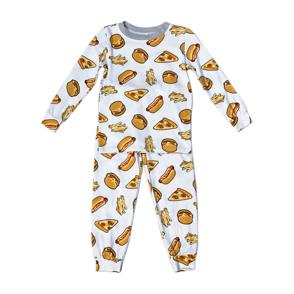 Esme Loungewear Esme Boy Pajamas - Fast Food