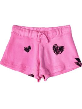Flowers by Zoe Flowers by Zoe Neon Pink Shorts