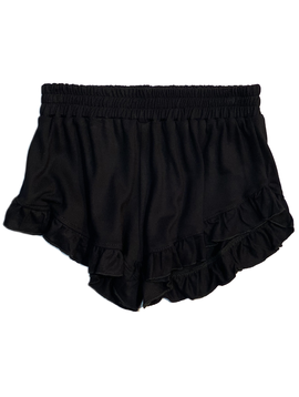 Flowers by Zoe Flowers by Zoe Black Ruffle Shorts
