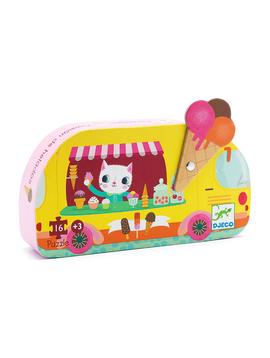 Djeco Toys Djeco Puzzle Ice Cream Truck