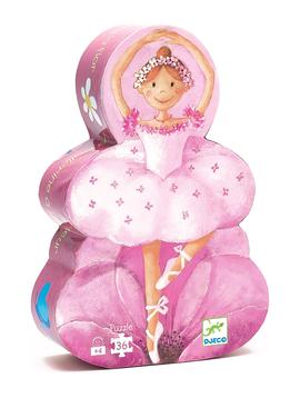 Djeco Toys Djeco Puzzle Ballerina Silhouette