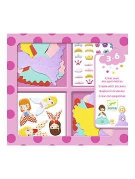 Djeco Toys Djeco Sticker Kit I Love Princess